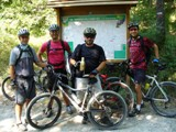 Salami in Mountain Bike a Sasso Marconi